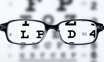Up to 91% Off Eye Exam & Glasses