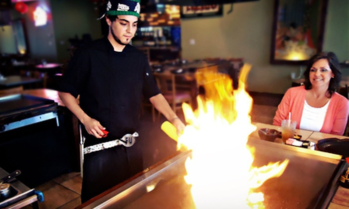 Shogun Restaurant Japanese Steak House - South Side: Surf 'n' Turf Hibachi Dinner for 2 or 4, or Up to 20 People at Shogun Restaurant Japanese Steak House (Up to 53% Off)