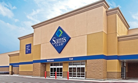$25 for a One-Year New Sam's Club Savings Membership Package (63% Off)