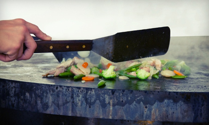 Osaka Sushi & Hibachi - Robbinsdale - Crystal - New Hope: $15 for $30 Worth of Hibachi Dinner at Osaka Sushi & Hibachi