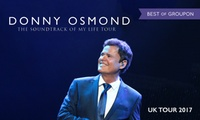 Donny Osmond Tour on 21 January - 3 February, Multiple Locations (Up to 30% Off)