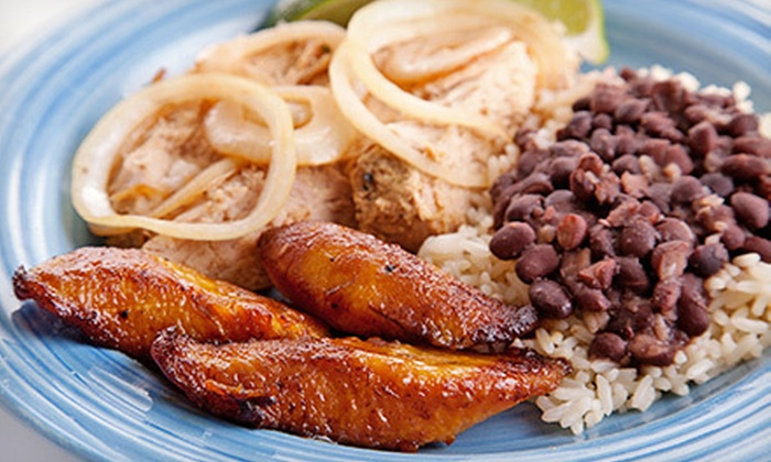 Salsa Latin Eatery - Jefferson Valley-Yorktown: Puerto Rican Food at Salsa Latin Eatery (Up to 54% Off). Two Options Available.