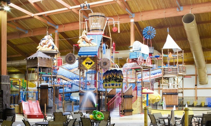 Fort Rapids Indoor Waterpark - Columbus, OH: All-Day Water-Park Passes for Two, Four, or Six at Fort Rapids Indoor Waterpark (Up to 51% Off)