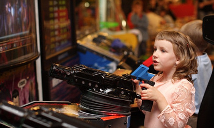 Klassic Arcade - Pine Grove: 5, 10, or 20 All-Day Unlimited-Play Visits at Klassic Arcade (Up to 80% Off)