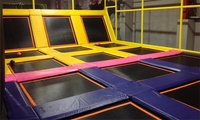 Two-Hour Jumping Session for One or Two Toddlers and Adults with One or Two Hot Drinks at 99 Jump Street (17% Off)