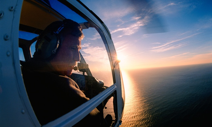 North Andover Flight Academy - Boston Helicopters: $129 for a 50-Minute Introductory Helicopter Flight Lesson with Video at North Andover Flight Academy ($215 Value)