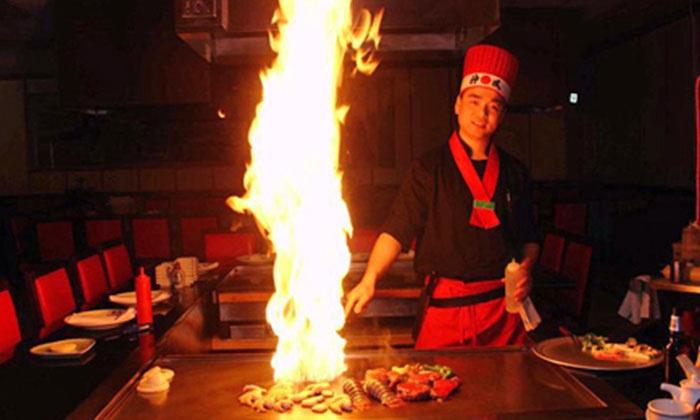Saga Hibachi Steakhouse & Sushi Bar - Monroeville: Japanese Cuisine at Saga Hibachi Steakhouse & Sushi Bar (Half Off). Two Options Available.