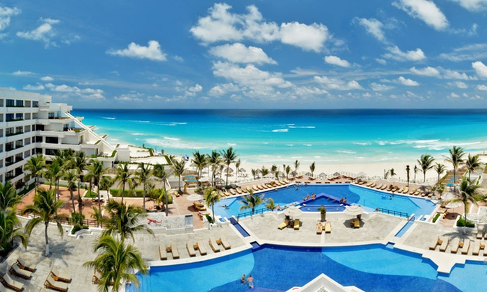 Oasis Sens - Cancun, QR: Four-, Five-, or Seven-Night All-Inclusive Stay at Oasis Sens in Cancun, Mexico