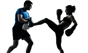 K30X Kickboxing: 5 or 10 Boxing or Kickboxing Classes with Gloves at K30X Kickboxing (Up to 66% Off)
