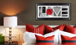 "Imagine Letters: Letter-Art Package with 10 Custom Letters or the Words ""Love"" and ""Family"" from Imagine Letters (Up to 75% Off)"
