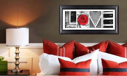 Custom Letter-Art Package with Extra Word from Imagine Letters (Up to 82% Off). Three Options Available.