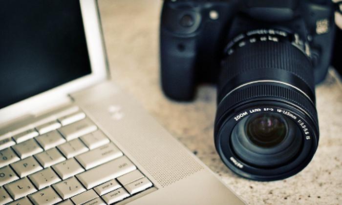 Photo Art Studio - Regina: $39 for Certification in Photography, Photoshop, Web Animation, or Development at Photo Art Studio ($450 Value)
