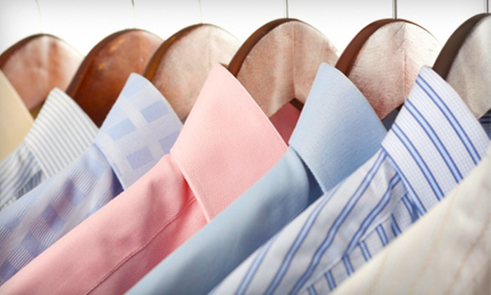 J Fields Cleaners - Samlarc: $20 for $40 Worth of Dry-Cleaning Services or Dry Cleaning of Any Size Comforter at J Fields Cleaners
