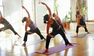 Pop Up Yoga: One Week of Unlimited Yoga Classes from R99 for One at Pop Up Yoga (Up to 60% Off)