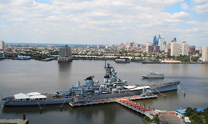 Battleship New Jersey - Delaware River: Battleship New Jersey Visit for Two or Four (51% Off)