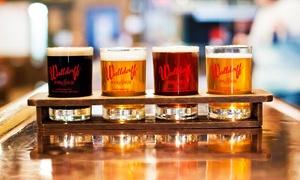 Waldorff Brewpub & Bistro: Nine-Beer Sampler for One or Two at Waldorff Brewpub & Bistro (Up to 50% Off)