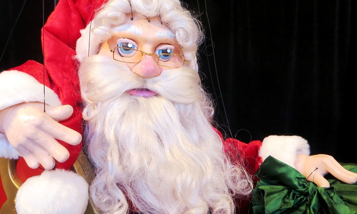 """Holly Jolly Christmas"" Marionette Show - Intersection of Ballpark Way and Road to Six Flags: Le Theatre de Marionette's ""Holly Jolly Christmas"" at the Arlington Christkindl Market (Up to 50% Off)"