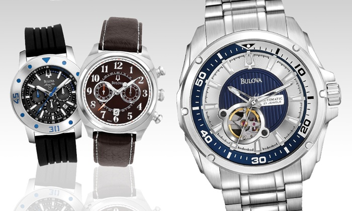 Bulova Men's Watches: Bulova Men's Watches (Up to 65% Off). 14 Styles Available. Free Shipping and Free Returns.