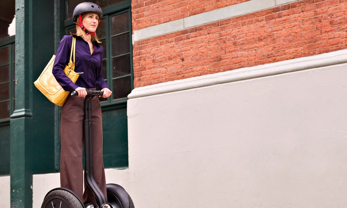 Segway Nation - Downtown: Historic Segway Tour in San Antonio, Austin, or Dallas from Segway Nation (Up to 46% Off)