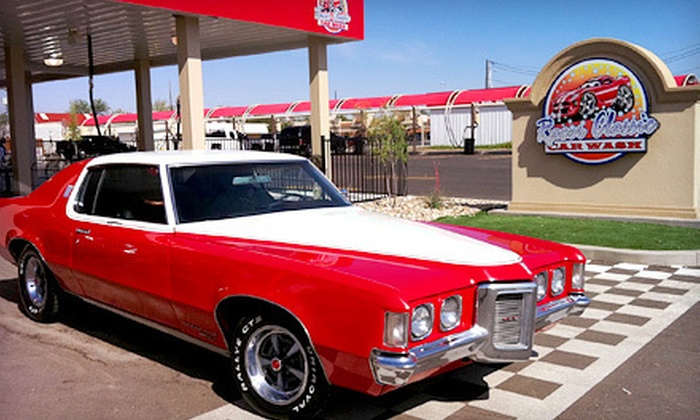 Racer classic car wash in lubbock texas groupon for Classic motor cars lubbock