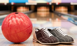 Port Jeff Bowl: Two Games of Bowling for Two, Four, or Six with Shoe Rentals and Optional Soda (Up to 56% Off)