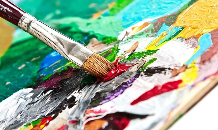 Mesa Art Studio - The Art Garden: $49 for Four Two-Hour Adult Art Classes at Mesa Art Studio ($100 Value)