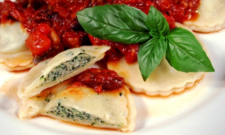 Italian Meal for Two or Four at NeroDoro (Up to 52% Off)