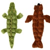 Skinneeez Tons-O-Squeakers Alligator, Seal, or Walrus Dog Toy