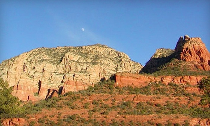 Sedona Red Rock Adventures - Sedona: Arizona Sunset Tour or Wine-Tasting Tour from Sedona Red Rock Adventures (Up to 57% Off). Two Options Available.