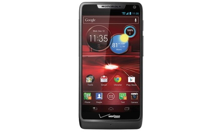 Motorola Droid RAZR M Android 4G/LTE Smartphone for Verizon and Page Plus with 4.3