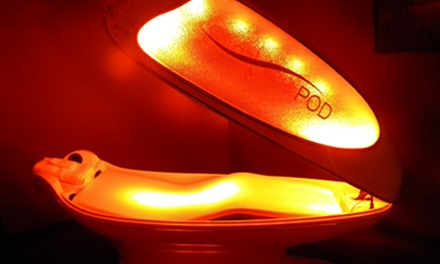 $52 for Five 30-Minute Sessions in an Alpha LED Light Pod at RejuvePod ($100 Value)