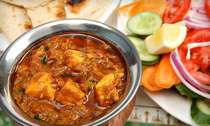 Bengal Restaurant - Parsons Industrial: $24 for a Three-Course Indian Dinner for Two at Bengal Restaurant (Up to $48.65 Value)