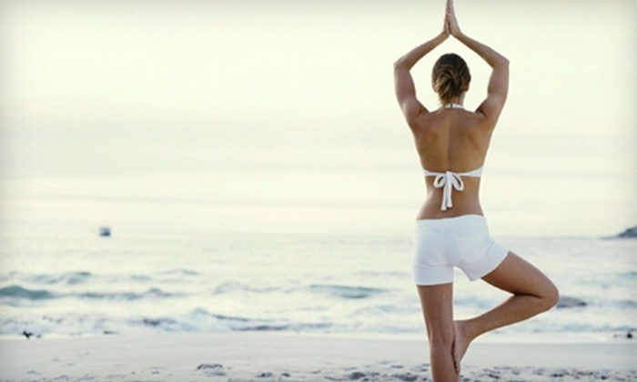 Oxygen Hot Yoga & Fitness Studio - Multiple Locations: One Month of Unlimited Infrared-Hot-Yoga or Boot-Camp Classes at Oxygen Hot Yoga & Fitness Studio (Up to 80% Off)