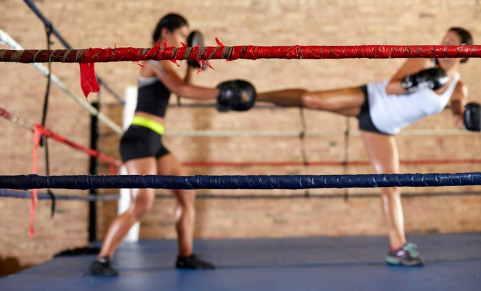 10, 20, or 30 Kickboxing Classes with Gloves at American Academy of Martial Arts (Up to 77% Off)