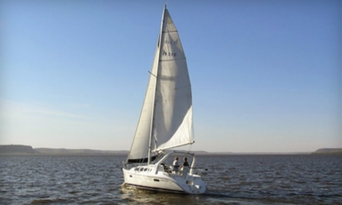 Sail Pepin - Pepin: $27 for a Two-Hour Lake Pepin Sailboat Cruise for Two from Sail Pepin ($54 Value)
