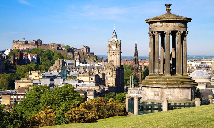 The Carlton Hotel Edinburgh 1 Or 2 Nights For Two With