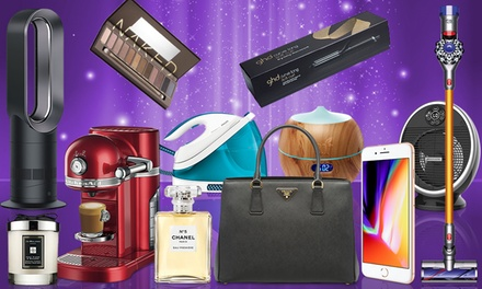 In Time for Christmas Mystery Deal with Chance to Get Dyson, Prada Handbag and More