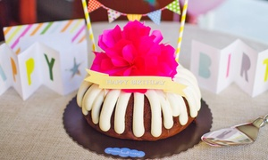 Nothing Bundt Cakes: $13 for $20 Worth of Cakes and Desserts at Nothing Bundt Cakes