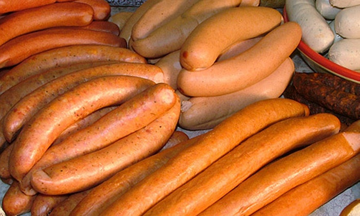 Wienerz Factory and Deli - Fair Oaks: $15 for $30 Worth of Sausages or Prepackaged Assortment or $25 for Prepackaged Assortment at Wienerz Factory and Deli