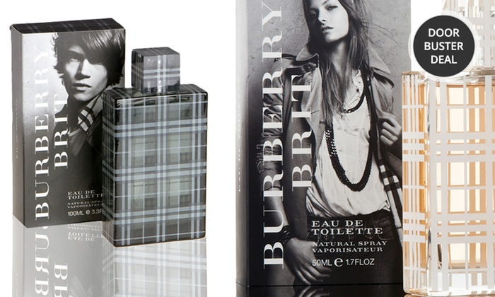 Burberry Brit Fragrances for Men & Women: Burberry Brit Men's Eau de Toilette or Women's Eau de Toilette or Eau de Parfum; 1.7 or 3.3 Fl. Oz. from $27.99—$39.99
