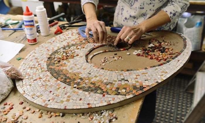 Glass Mosaic Canada - Stonegate - Queensway: Two-Hour Mosaic or Stained-Glass Workshop for One, Two, or Four at Glass Mosaic Canada (Up to 60% Off)