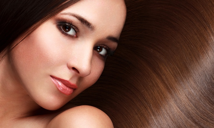 Gina Moreau at Jamie's Hair Design and Day Spa - Thousand Oaks: Brazilian Blowout, or Haircut and Deep Conditioning from Gina Moreau at Jamie's Hair Design and Day Spa (Up to 68% Off)