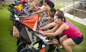 Fit4Mom: Five Stroller Strides Classes at Fit4Mom (55% Off)