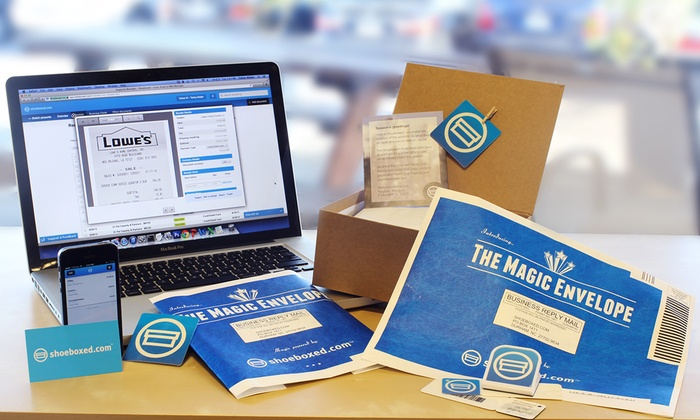 Shoeboxed: Four- or Seven-Month Classic Subscription for Receipt-Digitization Services from Shoeboxed (Up to 58% Off)