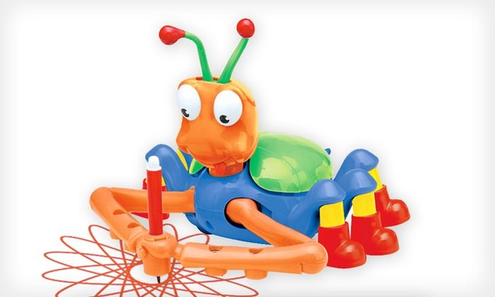 Doodle Bug Drawing Robot: $15 for a Doodle Bug Drawing Robot ($50 List Price). Free Shipping.