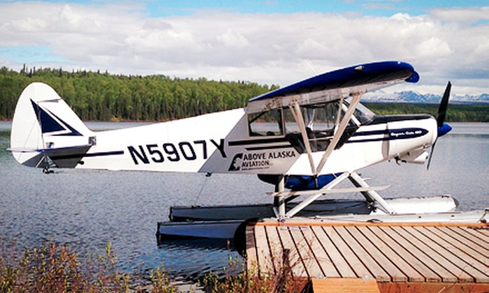 Above Alaska Aviation - Talkeetna: Four-Hour Fly-Out Guided Fishing Trip for One or Three from Above Alaska Aviation (Up to 51% Off)