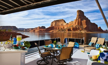 groupon daily deal - 2- or 3-Night Houseboat Stay for Up to 12 from Lake Powell Resorts & Marinas