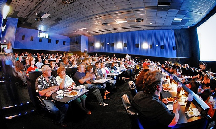 Studio Movie Grill - Multiple Locations: One, Two, or Four Groupons, Each Good for One Movie Outing with Ticket at Studio Movie Grill (Up to 50% Off)