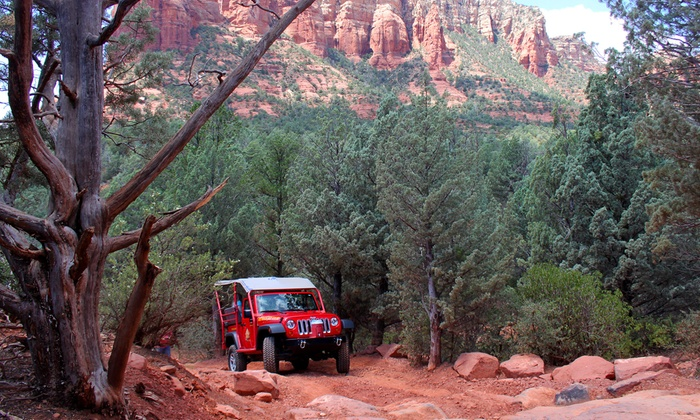 Red Rock Western Jeep Tours - Sedona: 90-Minute Jeep Tour for Two, Four, or Six from Red Rock Western Jeep Tours (Up to 45% Off)
