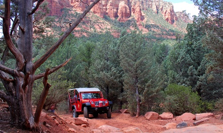 90-Minute Jeep Tour for Two, Four, or Six from Red Rock Western Jeep Tours (Up to 45% Off)